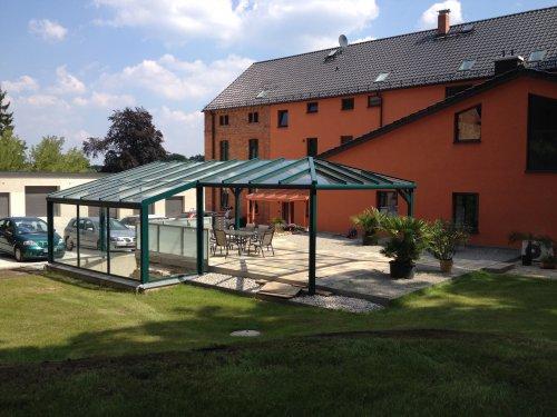 Ausstellungsgelände der NLH Alu GmbH